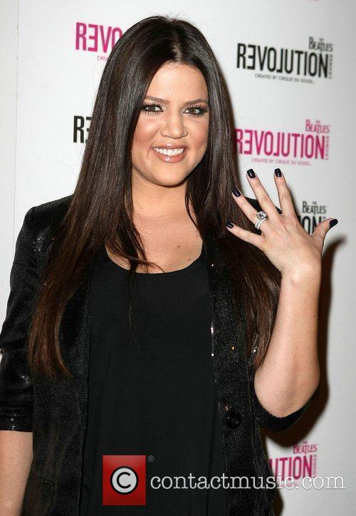 Khloe Kardashian and Beatles 2