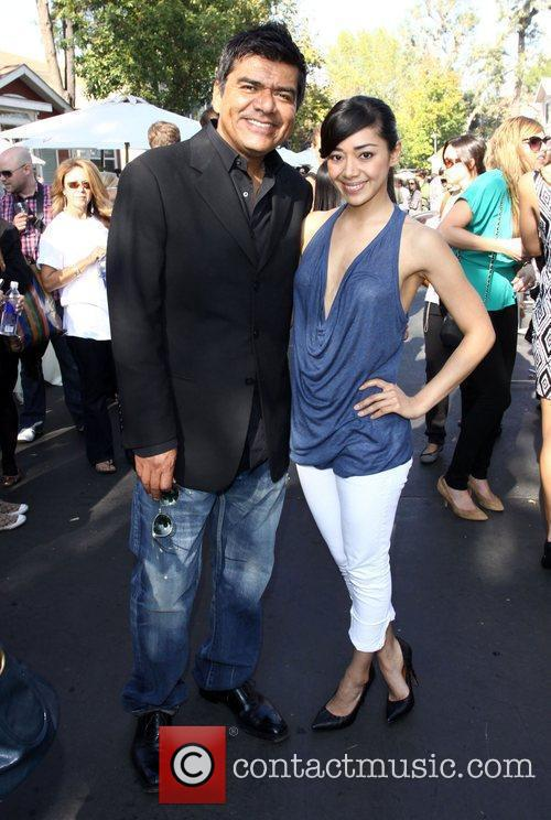 George Lopez and Aimee Garcia 23rd Annual Great...