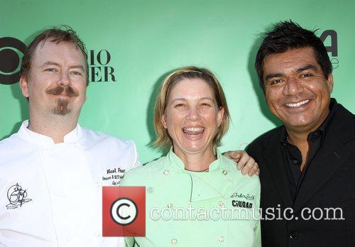 Neal Freser, Mary Sue Milliken, George Lopez 23rd...