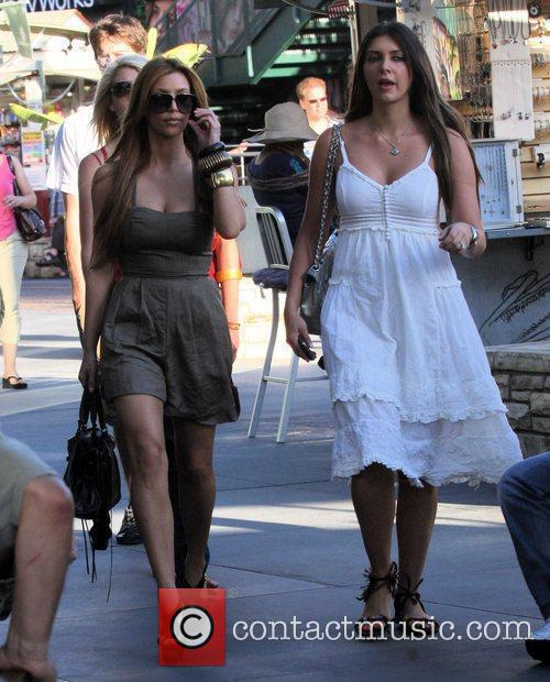 Kim Kardashian and Britney Gastineau 6