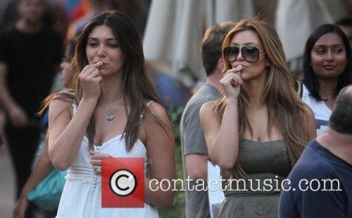 Kim Kardashian and Britney Gastineau 20