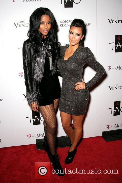 Ciara and Kim Kardashian 1