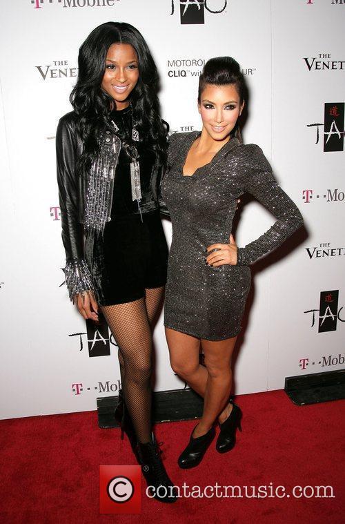 Ciara and Kim Kardashian 2