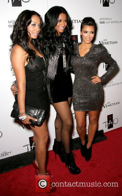 Lala Basquez, Ciara & Kim Kardashian Kim Kardashiancelebrates...