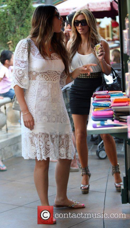 Brittny Gastineau and Kim Kardashian 2