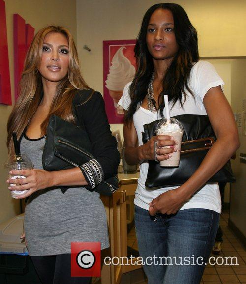 Kim Kardashian and Ciara 12
