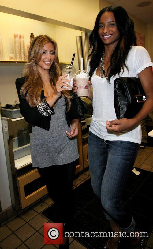 Kim Kardashian and Ciara 4