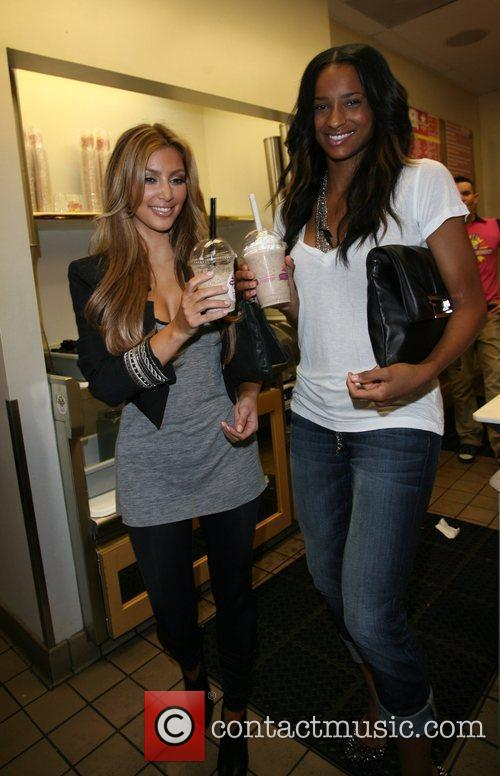 Kim Kardashian and Ciara 13
