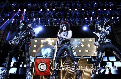 KISS perform live at the Bank Atlantic Center