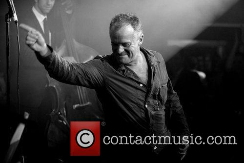 Bobby Davro  performing at 'The Kitsch Lounge...