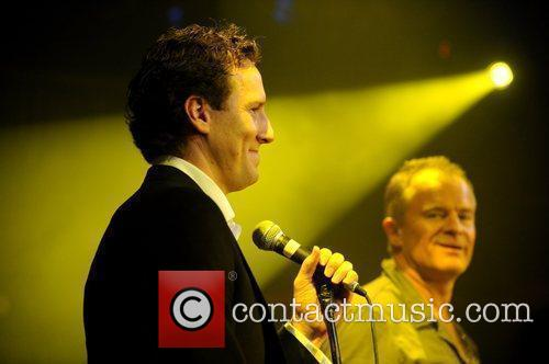 Brendan Cole, Bobby Davro  performing at 'The...