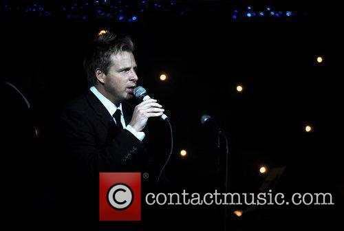 Johnny Barran (promotor) performing at 'The Kitsch Lounge...