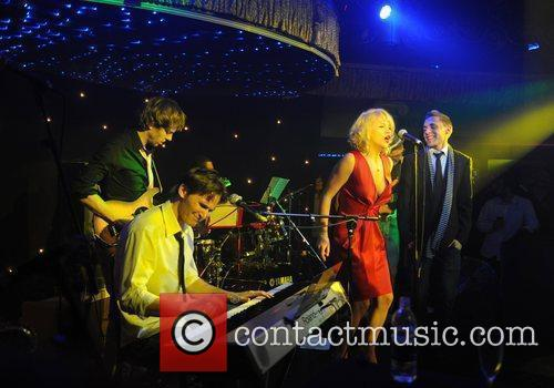 The New Capitols performing at 'The Kitsch Lounge...