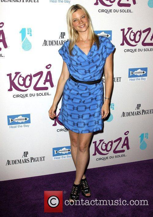 Amy Smart KOOZA, the big top touring show...
