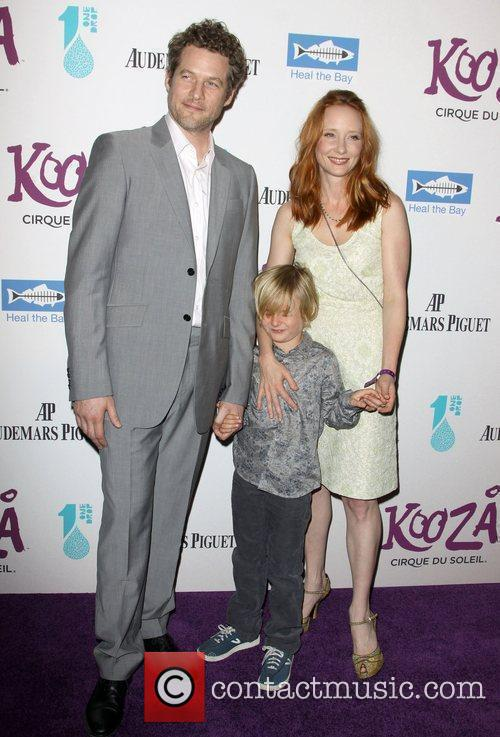 Anne Heche and boyfriend James Tupper and Son...