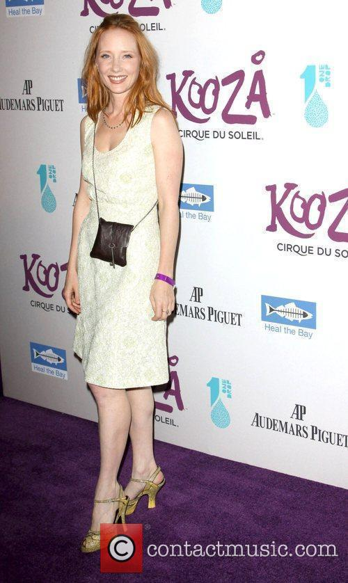 Anne Heche attending KOOZA, the big top touring...