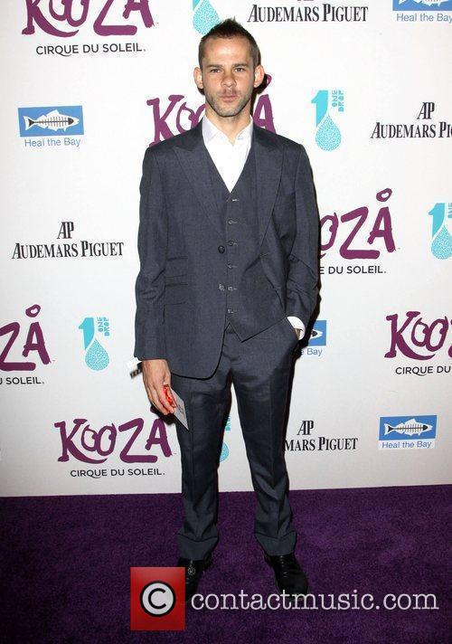 Dominic Monaghan attending KOOZA, the big top touring...