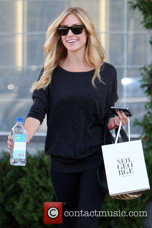 Kristin Cavallari  seen leaving the Neil George...
