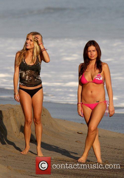 Kristin Cavallari films scenes for 'The Hills' on...