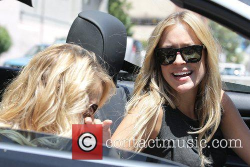 Kristin Cavallari leaving Joan's on Third in West...