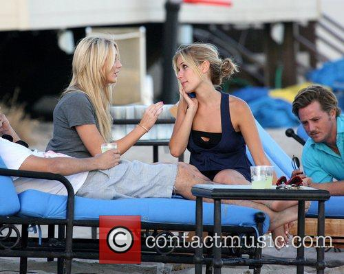 Stephanie Pratt and Kristin Cavallari film scenes for...