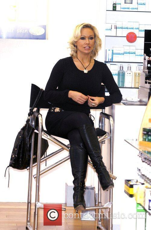 Kristina Rihanoff launches the new Glo Mineral cosmetic...