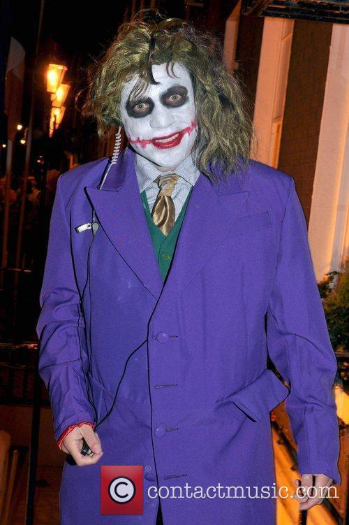 Conor Buckley arrives to the Halloween Party at...