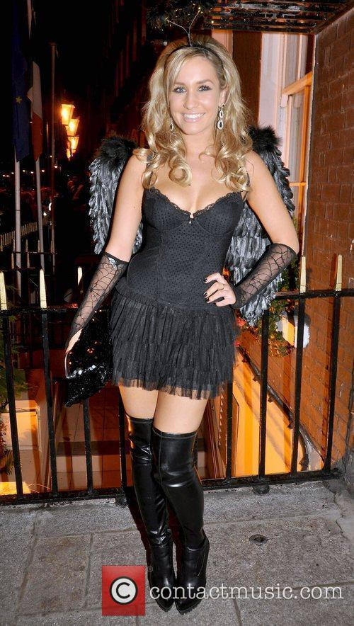 Kerri Ingram arrives to the Halloween Party at...