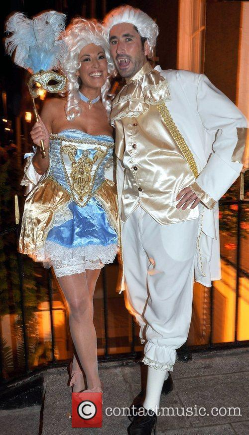 Louise MacIntyre, Michael Hannon arrives to the Halloween...