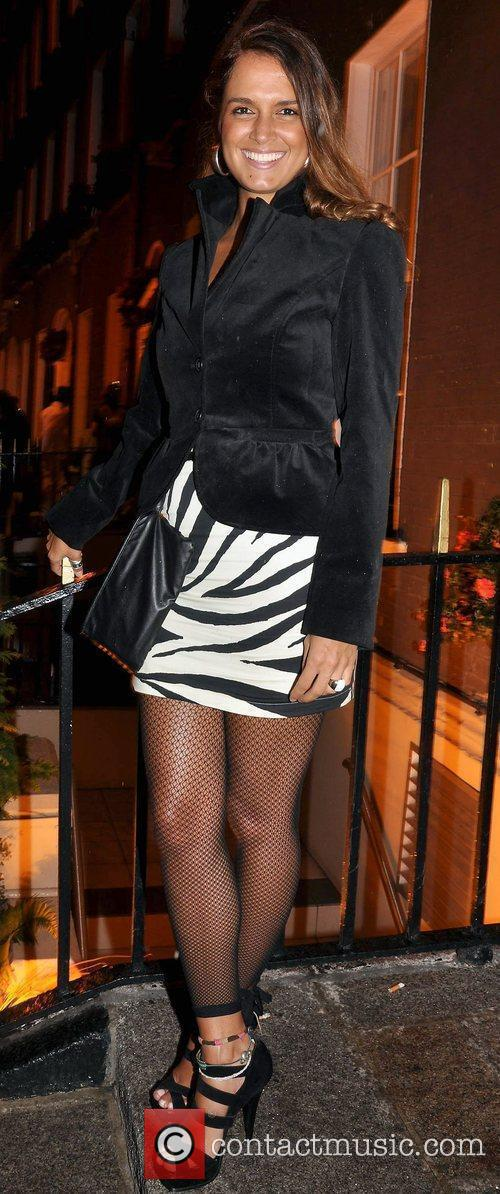 Roberta Rowat arrives to the Halloween Party at...