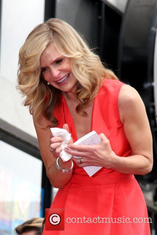 Kyra Sedgwick  is honoured with a star...
