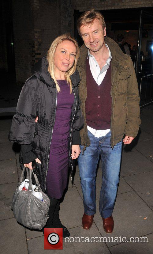 Jayne Torvill and Christopher Dean La Clique opening...