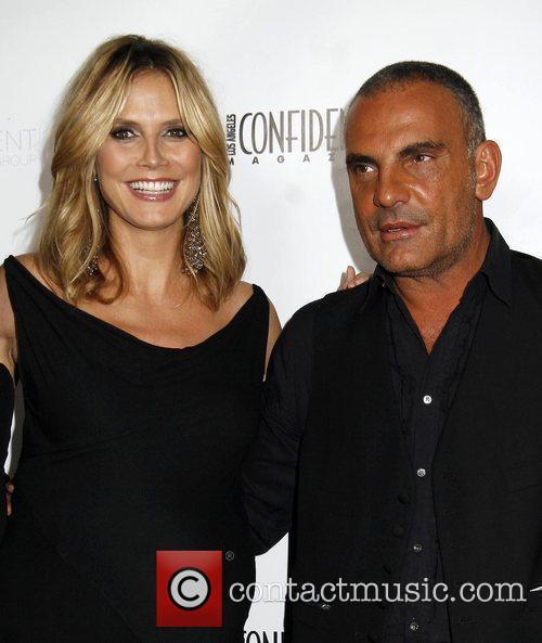 Heidi Klum and Christian Audigier LA Confidential Magazine's...