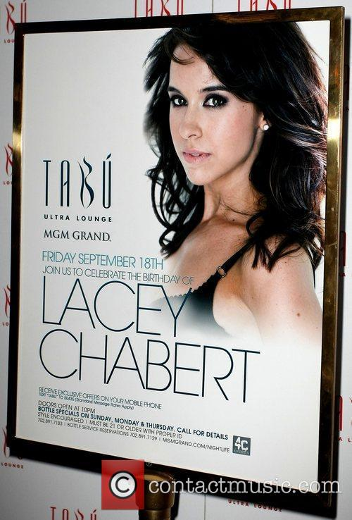 Lacey Chabert (poster) celebrates her Birthday at 'TABU'...