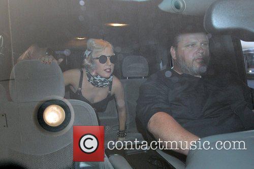Lady GaGa, aka Stefani Joanne Germanotta, gets a...