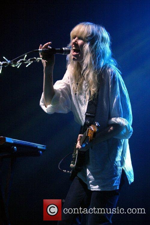 Ladyhawke performing live in concert at the Enmore...