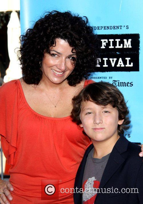 Frankie Jonas and Mom Denise Jonas The 2009...