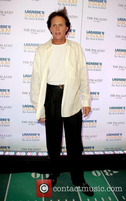 Bruce Jenner Grand Opening of Lagasse's Stadium at...