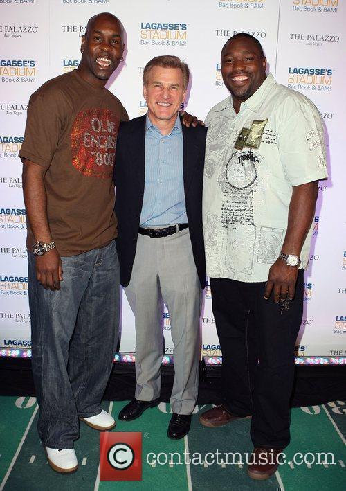 Gary Payton, Rob Goldstein and Warren Sapp 1