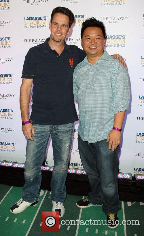 Kevin Dillon and Rex Lee Grand Opening of...