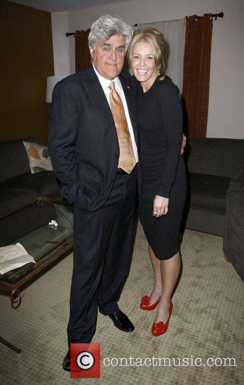 Jay Leno and Chelsea Handler 9