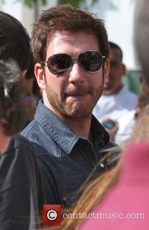 Dylan Mcdermott Arriving Amongst The Crowds Of Fans Coming To Watch The Second Finals Match Between Orlando Magic 3