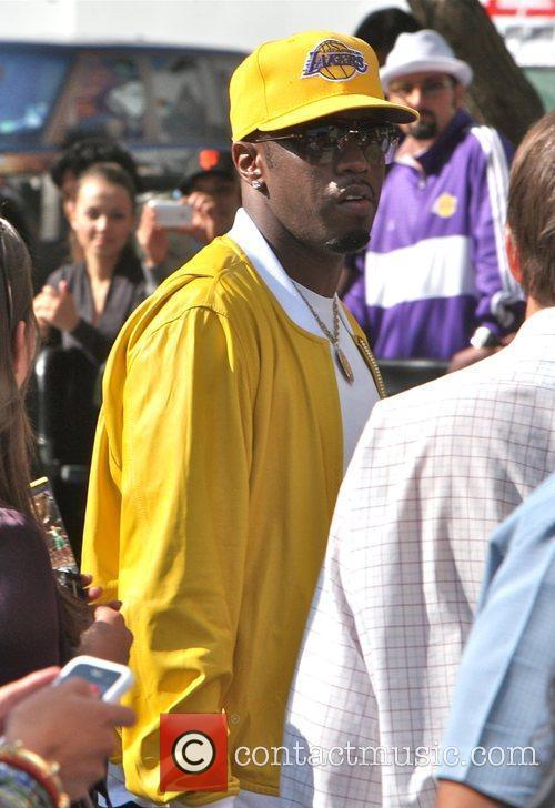 Sean Combs aka P Diddy arriving amongst the...