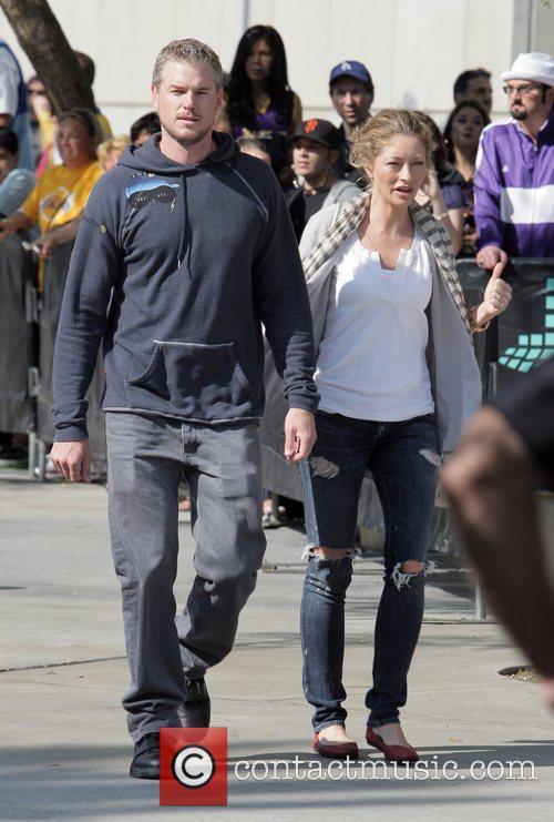 Eric Dane and Rebecca Gayheart arrive for the...