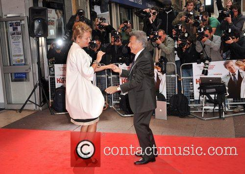 Dustin Hoffman, Emma Thompson 'Last Chance Harvey' UK...