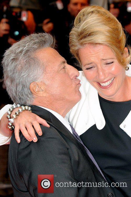 Dustin Hoffman and Emma Thompson 'Last Chance Harvey'...