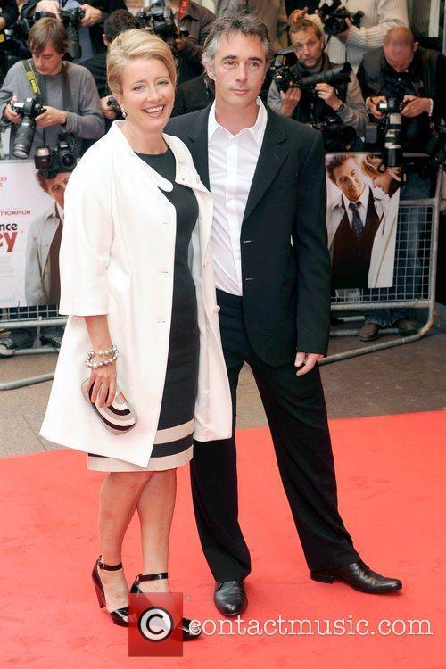 Emma Thompson and Greg Wise 'Last Chance Harvey'...