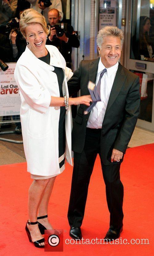 Emma Thompson and Dustin Hoffman 'Last Chance Harvey'...