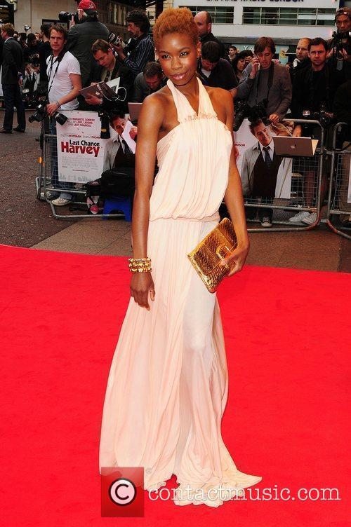 Tolula Adeyemi 'Last Chance Harvey' UK premiere held...