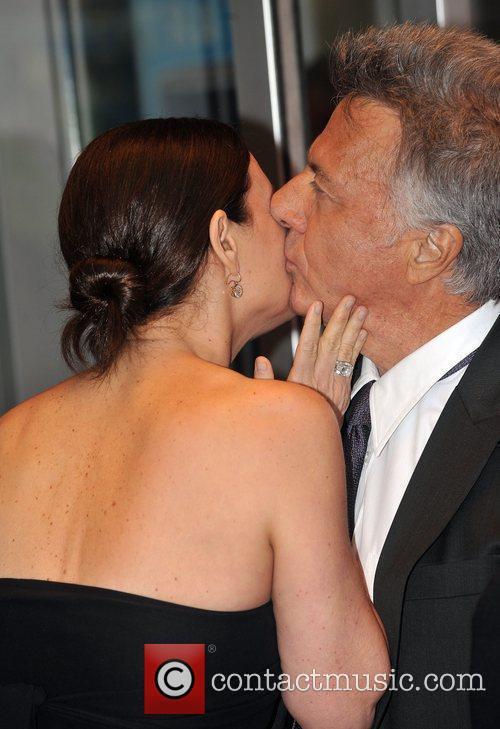 Dustin Hoffman with wife Lisa 'Last Chance Harvey'...
